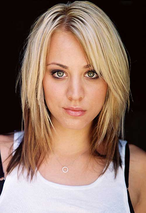 Kaley Cuoco Ombre Hairstyles