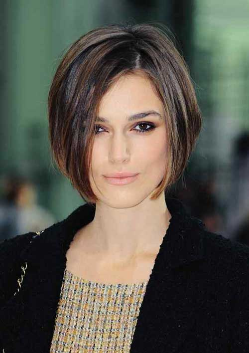 Keira Knightley Cute Trend Hairstyles