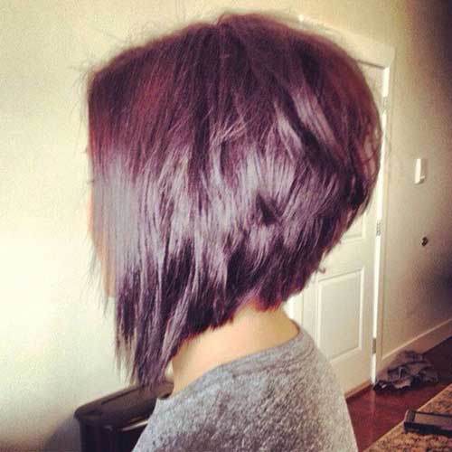 Best Dark Long Inverted Bob Idea for Women
