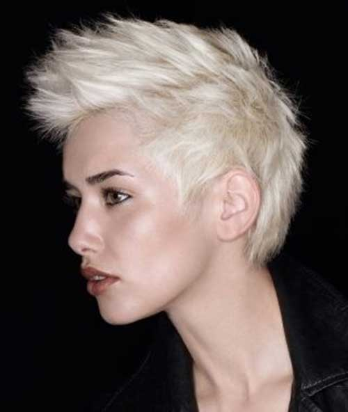 Straight Mohawk Hairstyles for Women