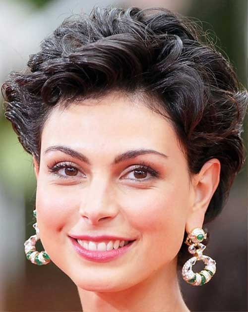 Morena Baccari Curly Hairstyles for Women