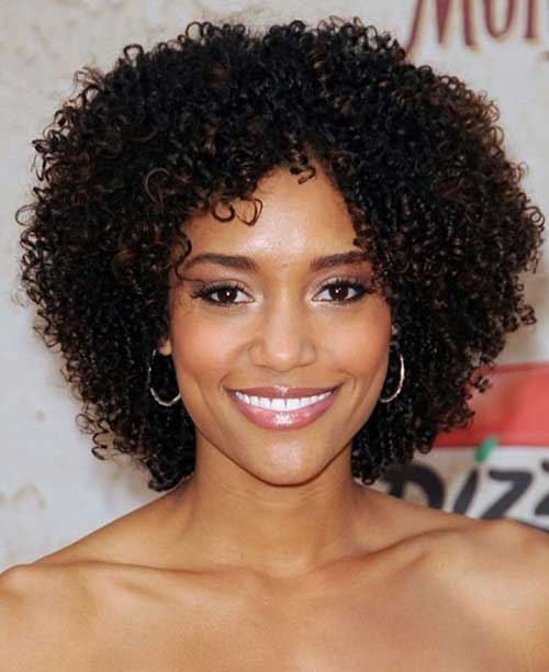 Pretty Natural Faro Style Curly Hairstyles