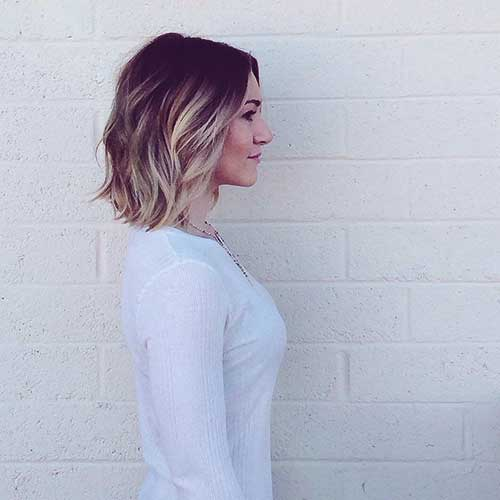 Blonde Ombre Hair Short