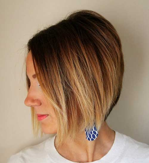 15 Short Blonde Ombre Hair The Best Short Hairstyles For