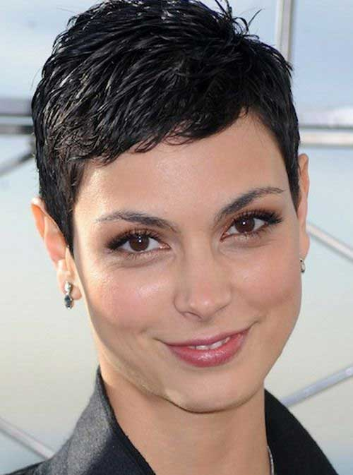 Pixie Haircuts for Round Face Women