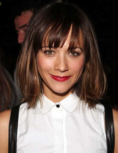 Rashida Jones Celebrity Hair Color 2015
