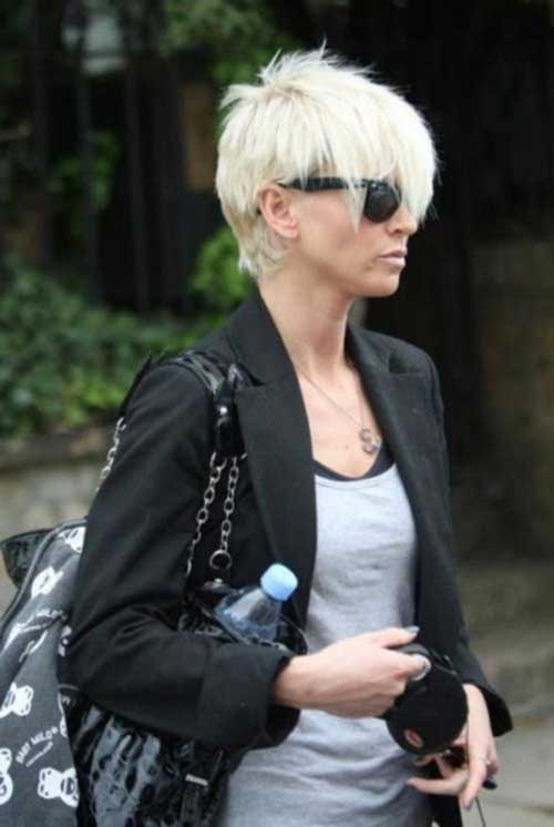 Sarah Harding Straight Blondish Hairstyle