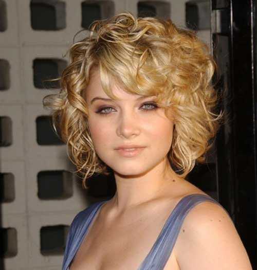 Sarah Jones Curly Hairstyles for Short Hair