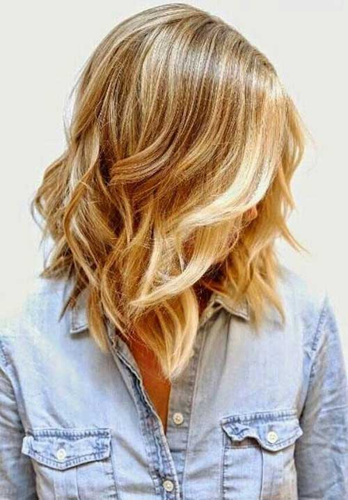 Shinny Light Blonde Hair Trends 2015