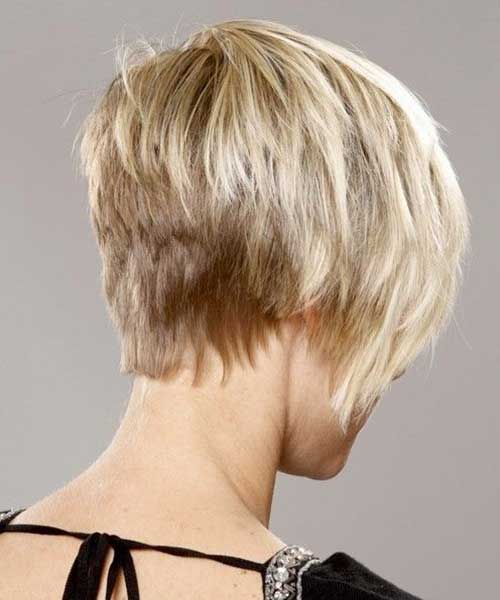 Thick Short Blonde Hairstyles Haircut