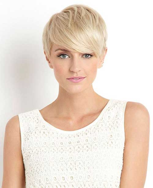 Short Blonde Pixie Haircuts for Girls