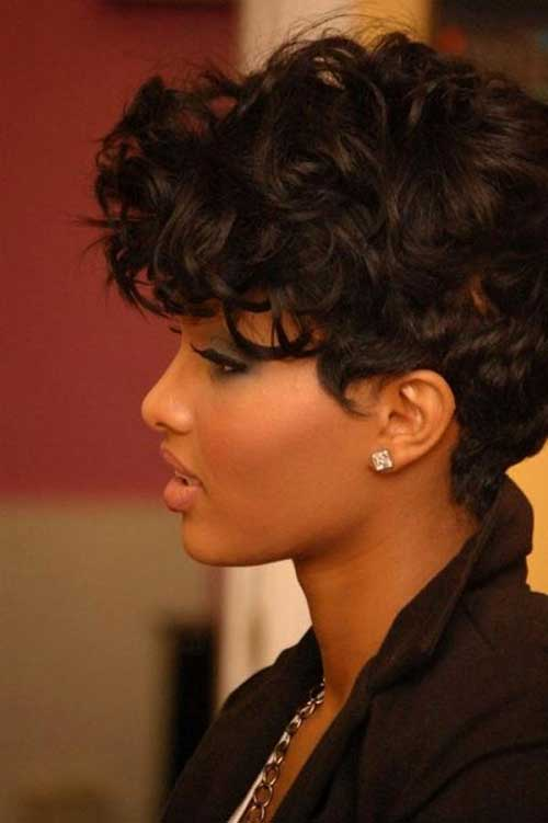 Cutest Short Curly Pixie Hairstyles for Women