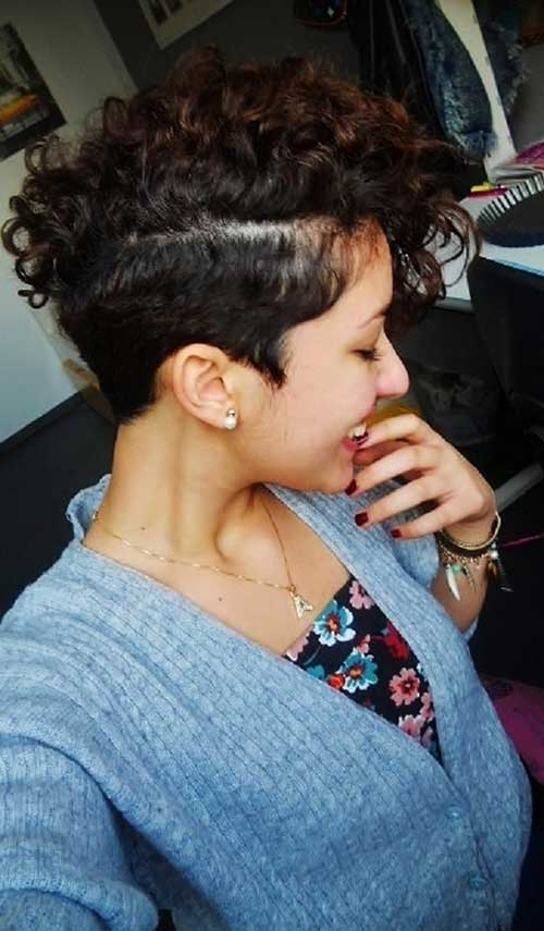 Curly Undercut for Women