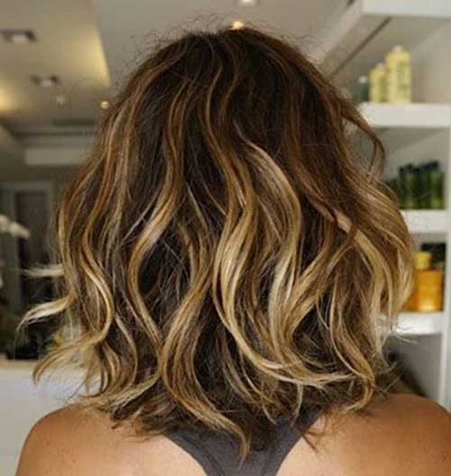 Short Curly Weave Ombre Hairstyles