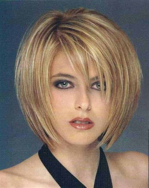Short Hair Fine Straight Style for Women