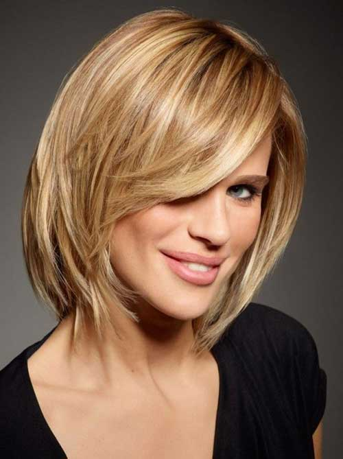 Short Hair Blondie Colour Idea