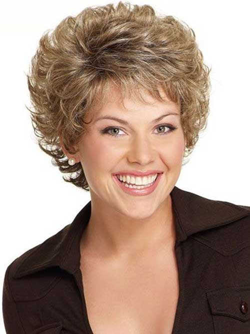 Short Cute Hair Styles for Wavy Hair for Women