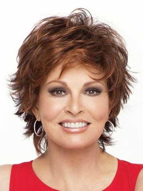 Best Layered Short Hairstyles Older Women