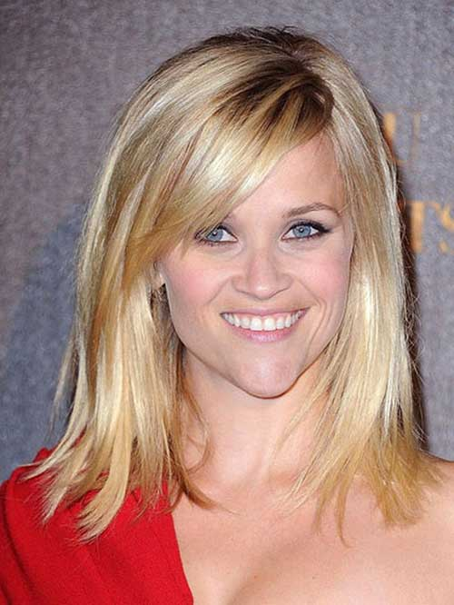 Reese Witherspoon Short Hairstyles for Fine Straight Hair