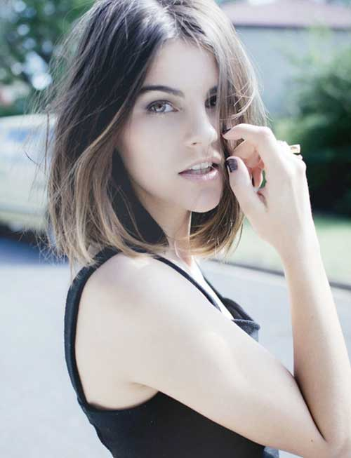Cute Short Ombre Hair Trends 2015