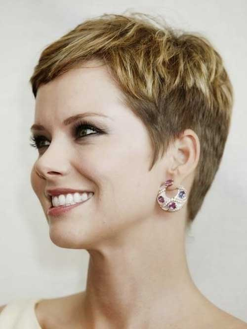 Very Short Pixie Cuts for Thin Hair