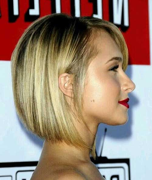 Best Short Straight Hairstyles 2015
