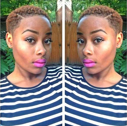 Cutest Short Tapered Natural Hairstyles