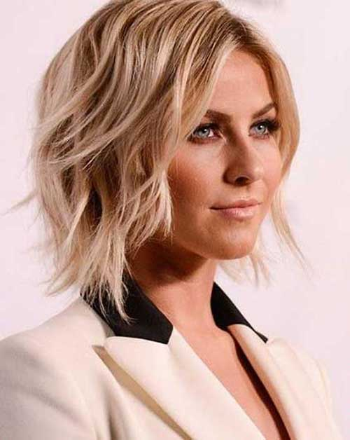 Shaggy Short Wavy Hairstyles