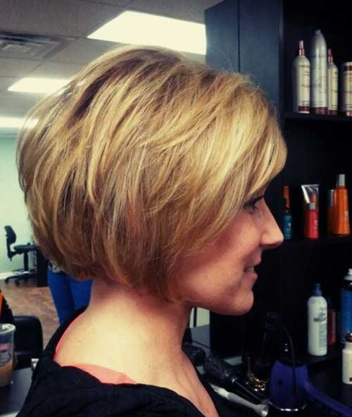 Trendy Stacked Bob Hairstyles 2015