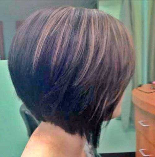 Shorted Straightened Modern Bob