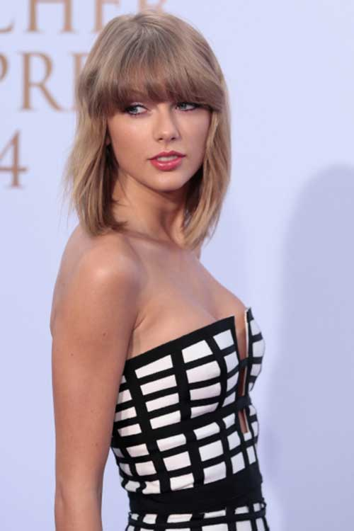Taylor Swift Bob Haircuts
