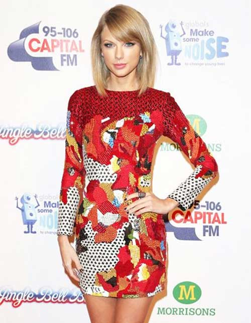 Taylor Swift Celebrity Short Hair