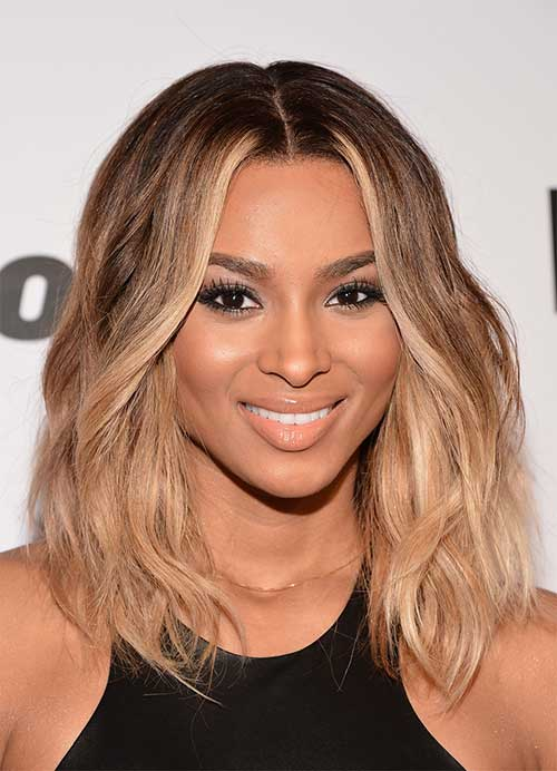 Trendy Medium Hair with Waves for Women