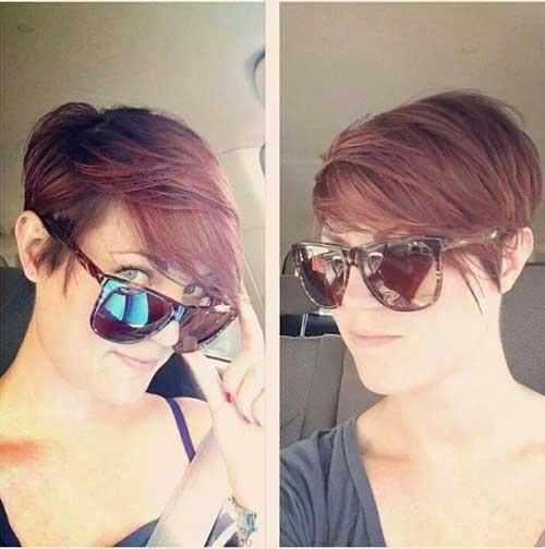 Trendy Long Pixie Short Hair Styles