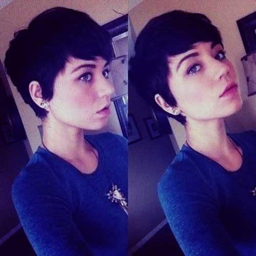 Cute Pixie Trendy Short Hairstyle
