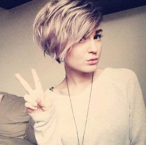 Cute Trendy Short Hairstyles for Summer for Girls 2015
