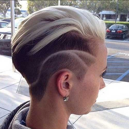 Trendy Short Shaved Hairstyles for Girls