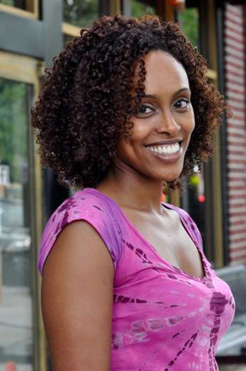 Cute Wash and Go Natural Hair for Women
