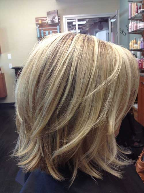 Layered Bob 2015 Trendy Short Hairstyles