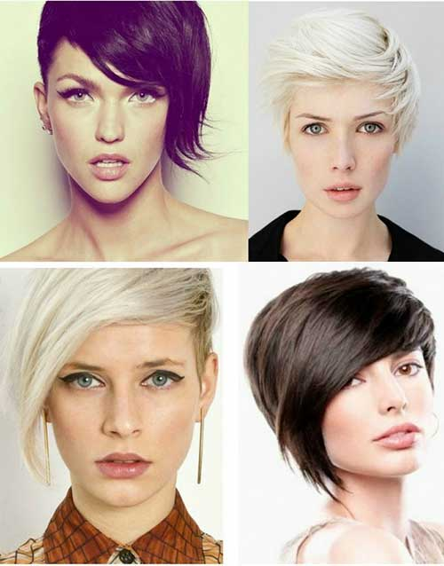 Asymmetrical Pixie Cuts Idea Trends