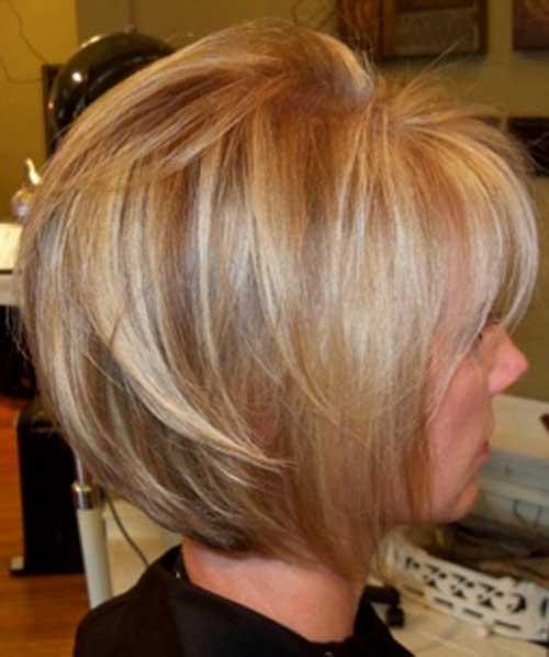 Feminine Blonde Hair with Red Lowlights