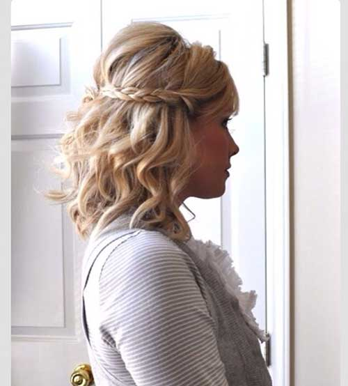 Cutest Curly Hairstyles with Braids