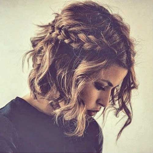 Best Cute Braided Bob Style