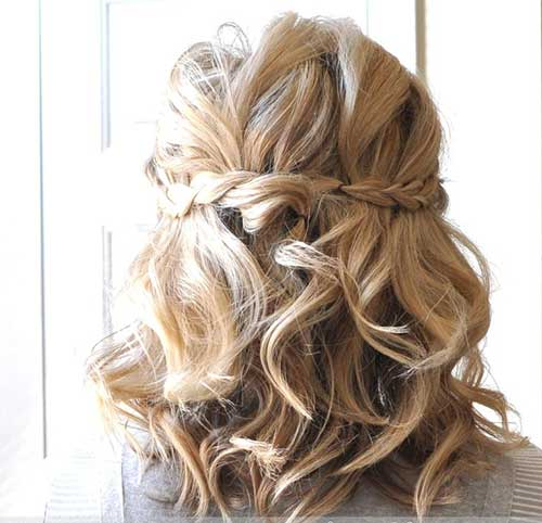Cute Easy Half Up Hairstyles 2015