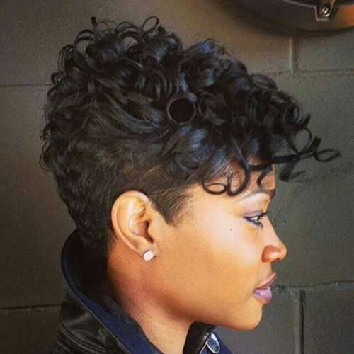 Gorgeous Cute Short Haircuts for Black Females