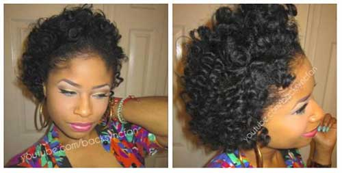 Cute Short Natural Hairstyles for Black Females
