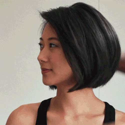 Dark Bob Hairstyles Trend for Women 2015