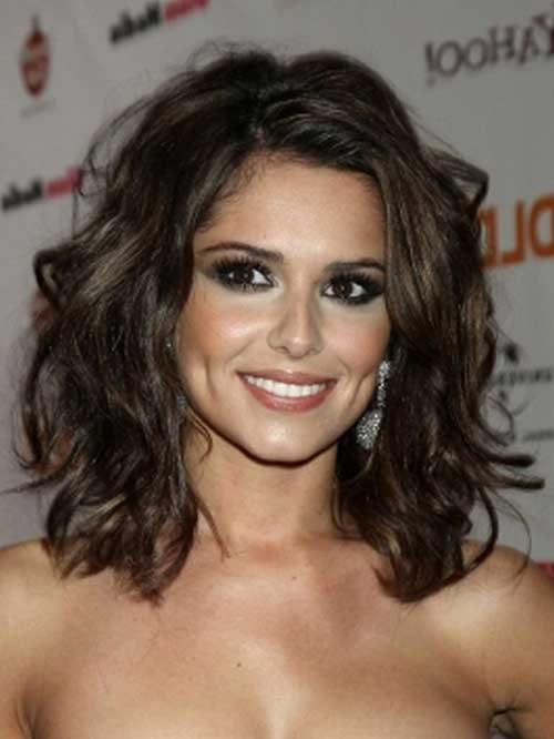 Dark Hair with Loose Curls