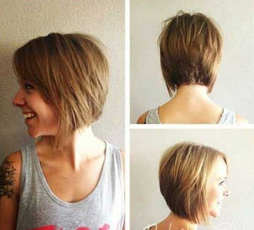 Women's Easy Cute Hairstyles for Short Hair 2015