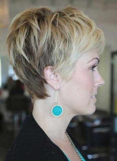 Cute Blonde Growing Out a Pixie Cut